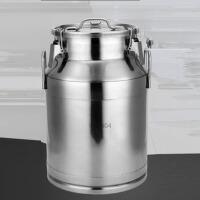 商用家用时尚不锈钢密封桶油桶牛奶桶厨房储物罐酒桶原料运输罐食品密封罐