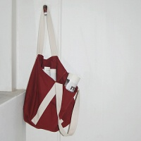 帆布包女单肩简约百搭帆布袋文艺学生手提大容量大包