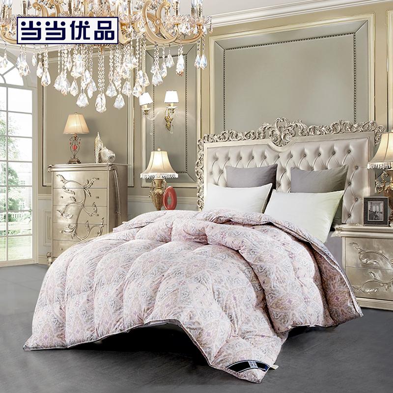 当当优品95%白鹅绒冬被羽绒被芯 浪漫法兰西 单人被子150*200cm