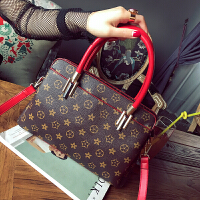 新款包包新款2018老花女式枕头包欧美潮流女包手提包休闲单肩包斜挎包