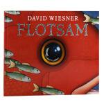 【中商原版】海底的秘密 英文原版 Flotsam 无字图画书无字绘本大师大卫威斯纳 激发孩子的想象力