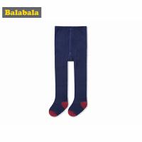 【2.26超品 3折价:17.7】巴拉巴拉女童袜子儿童棉袜薄款透气棉弹力连裤袜女孩长袜时尚百搭