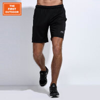 男款针织跑步运动短裤