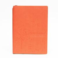 SCM至尚・创美 V32K061 商务笔记本A5记事本 橘红色 1本装 学生日记本厚本子 当当自营