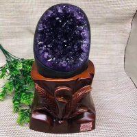 紫晶洞�[件天然紫晶洞�[件 水晶洞 消磁�艋�聚��盆 原石玄�P�宅�X袋