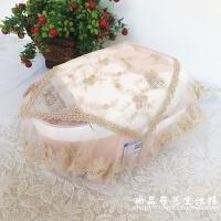 蕾丝布艺盖巾多用福库电饭煲罩电饭锅茶具盖布打印机防尘罩