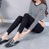 打底裤 女士高腰魔术裤2020年冬季新款韩版时尚潮流女式修身洋气女装铅笔裤