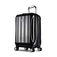 【返利】DELSEY大使牌20英寸PC拉杆箱旅行箱行李箱男女可登机前置口袋可扩充万向轮