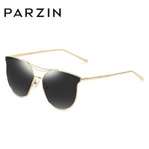 帕森偏光太阳镜 男女金属大框炫彩潮人墨镜开车驾驶眼镜