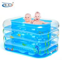 诺澳 婴儿游泳池 充气保温婴幼儿童宝宝游泳池戏水池大号游泳桶