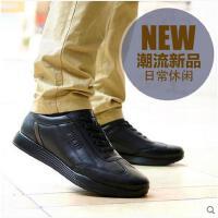 Afs Jeep/战地吉普男鞋休闲鞋新款时尚真皮男士系带商务低帮皮鞋60605
