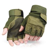 男户外登山健身 霹雳街舞手套海豹特种兵战术格斗半指手套