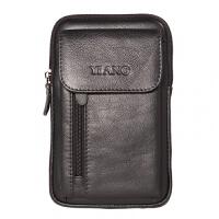 男士腰包多功能斜挎小包牛皮穿皮带5.5-6-7寸手机包竖款挂包