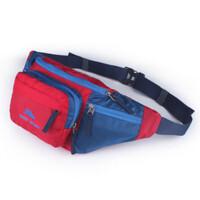 户外腰包大容量运动登山腰包 男女单肩包旅游证件收纳
