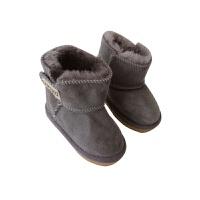 女童冬季2018皮毛一体长绒毛雪地靴加绒防冻防滑暖脚鞋子