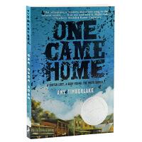 纽伯瑞银奖 寻找阿加莎 回家 英文原版 儿童文学 One Came Home青少年课外读物