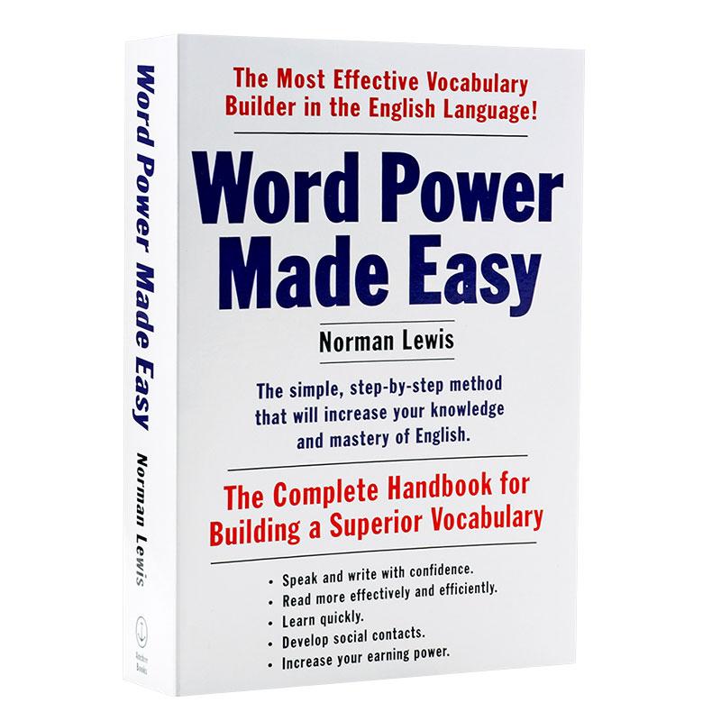【中商原版】词汇的力量 英文原版 单词的力量 Word Power Made Easy  轻松掌握词汇  单词学习方法新版 畅销原版 词汇学习书 词根背单词 小巧便携