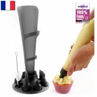 【当当海外购】法国进口Mastrad 马卡龙硅胶垫制作工具 奶油袋裱花袋裱花嘴