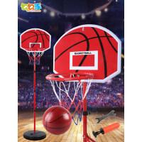 勾勾手儿童篮球架室内投篮框可升降宝宝皮球男孩球类玩具1-7周岁9