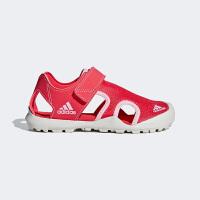 【1件4折】阿迪达斯(adidas)童鞋夏季新款男女童运动凉鞋儿童沙滩包头凉鞋BC0702 橙色