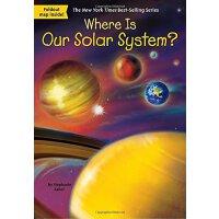 【现货】英文原版 Where Is Our Solar System? 我们的太阳系在哪儿?who was/is认知系