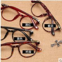 韩版时尚气质百搭防辐射眼镜 复古眼镜框轻盈舒适耐磨耐用圆框架眼镜框女潮