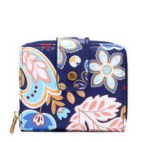 迷你韩国短款钱包短硬币公交卡包新品复古女袋小零钱包简约可爱韩版