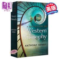 新西方哲学史 英文原版 A New History of Western Philosophy 英文读物 哲学史 Ox