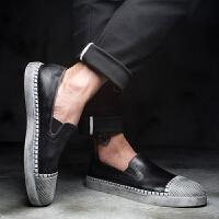 DAZED CONFUSEDU 男乐福鞋休闲鞋夏季新款韩版潮流百搭男鞋青年潮鞋复古皮鞋男