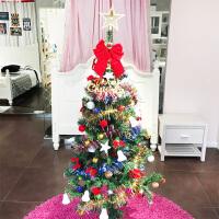 萌味 圣诞树 新款1.5米彩灯加密圣诞树套餐装平安夜装饰扮摆件节日礼物男女学生圣诞用品