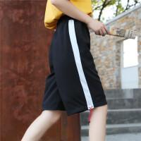 2018新款运动短裤女夏新款bf学生韩版宽松ulzzang百搭休闲阔腿五分裤