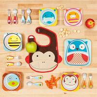 [套装]美国直邮 skip hop 可爱动物宝宝餐具套装 餐盘+餐碗+叉勺 包邮包税