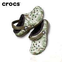 【秒杀价】Crocs卡骆驰童鞋 经典缤纷暖棉小克骆格棉拖鞋|204817 经典缤纷暖棉小克骆格