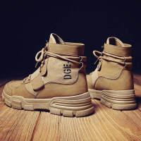 金牛骑士马丁靴男靴子高帮雪地男鞋秋冬季中帮短靴工装沙漠靴英伦复古百搭