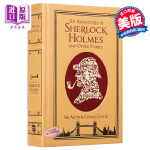 The Adventures of Sherlock Holmes福尔摩斯皮革精装全集