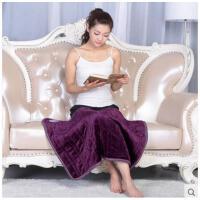 简单大气加厚柔软细腻手感加热垫暖脚办公室电热毯透气舒适多用电热护膝毯