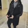 冬季新款中长款棉衣男潮带帽外套棉服男士韩版修身冬装棉袄子DJ-DS209
