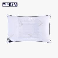 当当优品抗菌防螨枕 立体羽丝绒高弹小号枕芯38x60cm枕头 赠纯棉枕罩