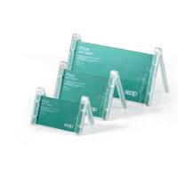 瑞普V型单面 桌签/亚克力台签/座位牌/台卡/席卡 7725 120x250