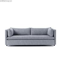 北欧沙发床可折叠推拉两用单人双人布艺小户型客厅简约多功能沙发 2米以上