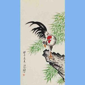 现代画家,美术教育家,建国后任中央美术学院院长,中华全国美术工作者协会主席徐悲鸿(花鸟)4