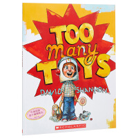 【中商原版】玩具太多了 英文原版Too Many Toys子绘本 凯迪克得主大卫・香农作品 玩具大全