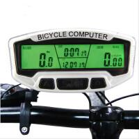 山地车夜光中文无线码表里程表骑行装备自行车码表里程表