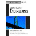 Dictionary of Engineering (Second Edition) [ISBN: 978-00714