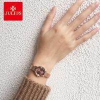 女士手表学生韩版时尚潮流防水石英表钢带款手表女简约腕表