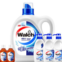 【2件3折到手价:49.9】威露士洗衣液3kg有氧洗+送内衣洗衣液300gx3+消毒液x2