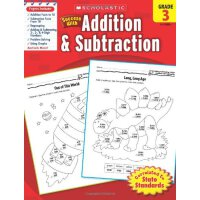 Scholastic Success with Addition & Subtraction, Grade 3 学乐成