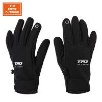 美国第一户外 多功能防风保暖耐磨手套跑步运动骑行全指冬季手套