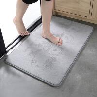 卫生间吸水地垫浴室防滑垫门口进门门垫家用垫子厨房脚垫卧室地毯