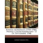 【预订】Poemas Numerales (1944-1948): Premio Centroamericano '1